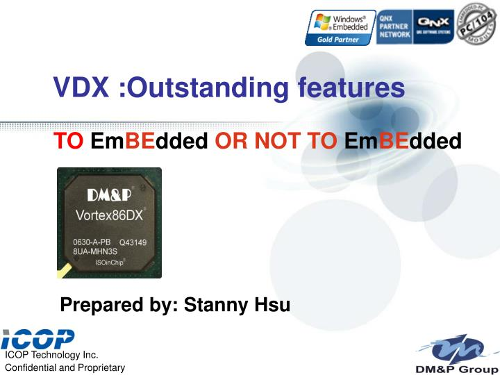 vdx outstanding features n.