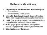 bethesda klasifikace