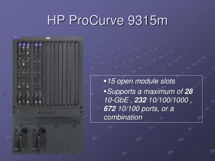 HP ProCurve 9315m