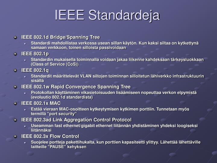 IEEE Standardeja