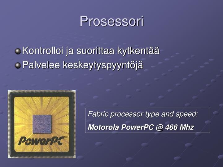 Prosessori