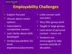 employability challenges