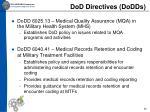 dod directives dodds2