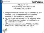 ha policies3