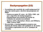 backpropagation 2 2