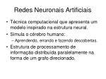 redes neuronais artificiais