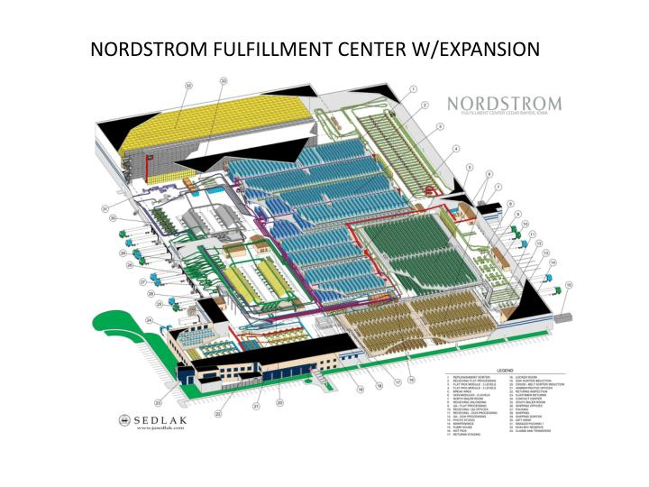 NORDSTROM FULFILLMENT CENTER W/EXPANSION