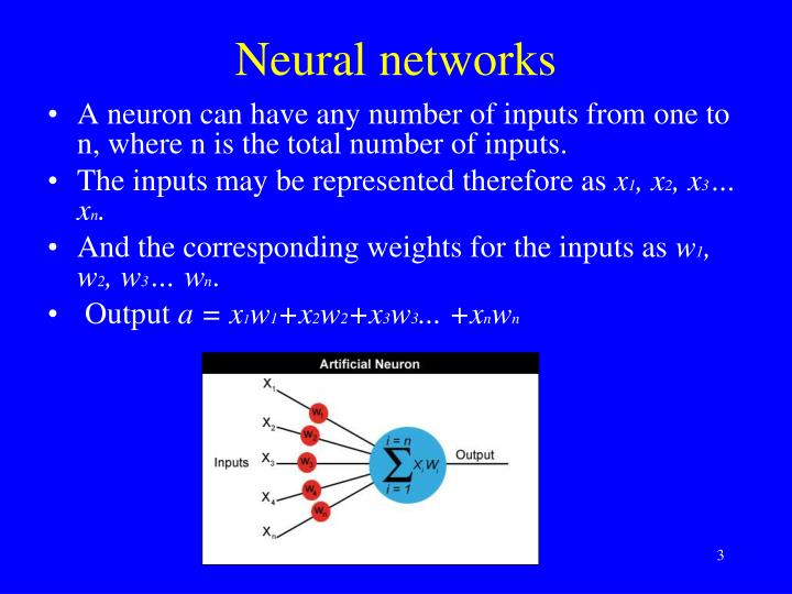 Neural networks2