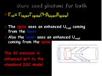 more seed photons for both