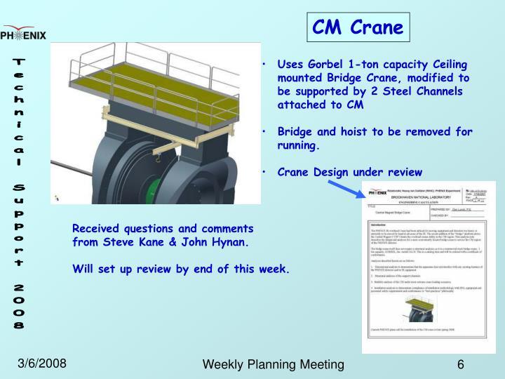 CM Crane