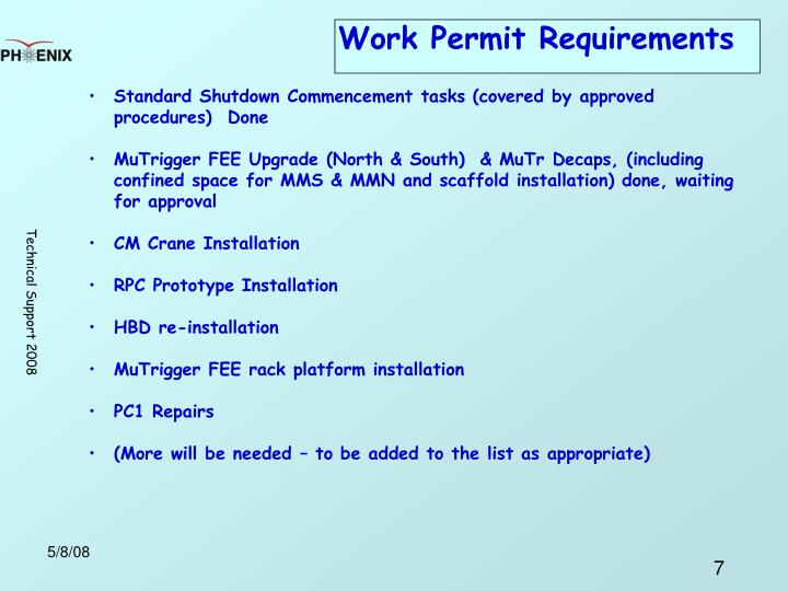 Work Permit Requirements