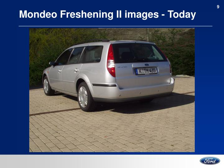 Mondeo Freshening II images - Today