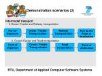 demonstration scenarios 2