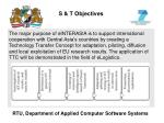 s t objectives