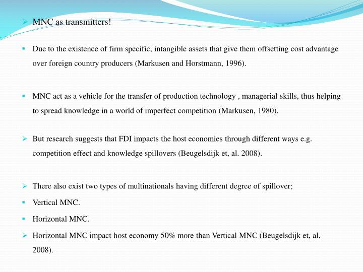 MNC as transmitters!