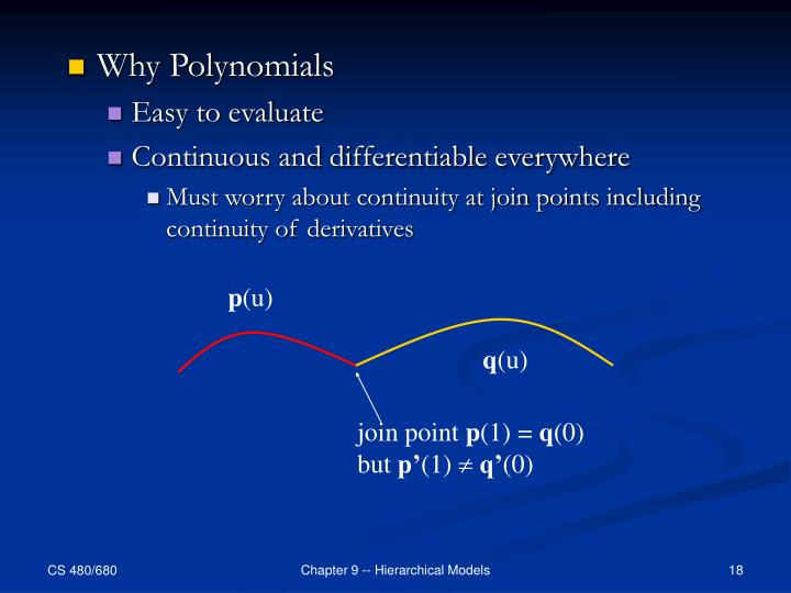 Why Polynomials