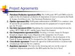 project agreements1