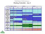 telepediatric teleconference dialing schedule day i