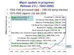major update in progress release 2 5 1662 2000