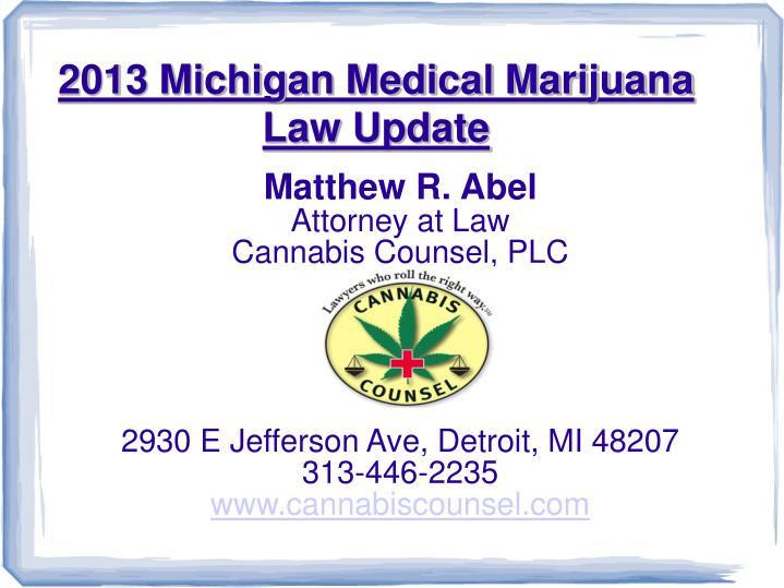 Matthew R. Abel
