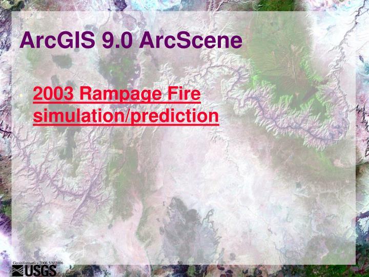 ArcGIS 9.0 ArcScene