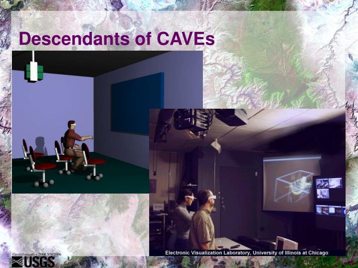 Descendants of CAVEs
