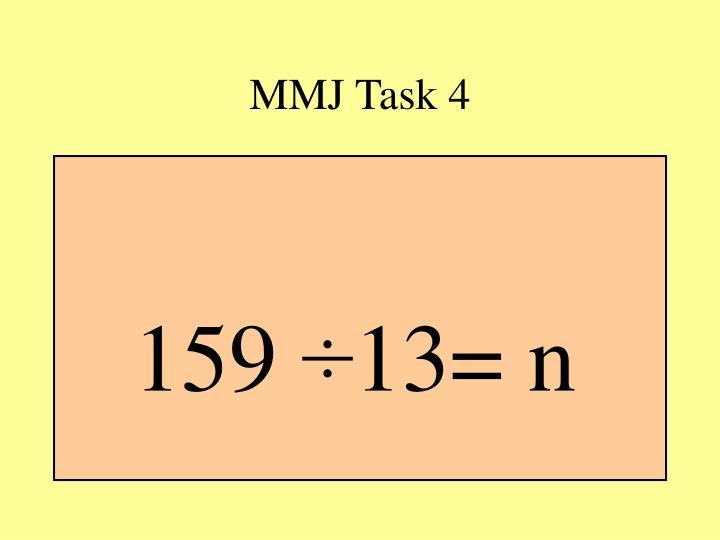 MMJ Task 4