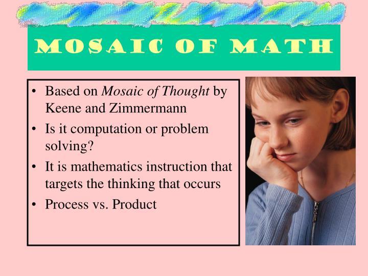 Mosaic of math