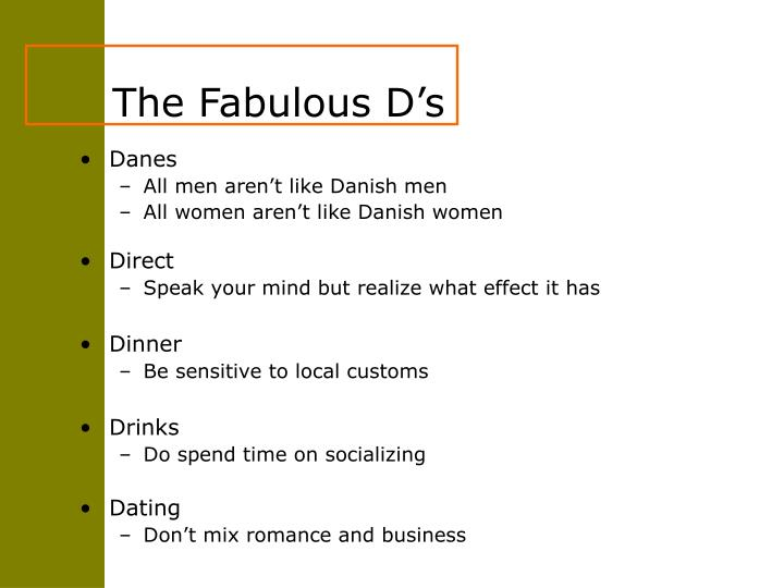 The Fabulous D's