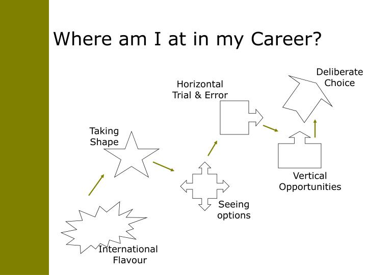 Where am I at in my Career?