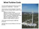 wind turbine costs