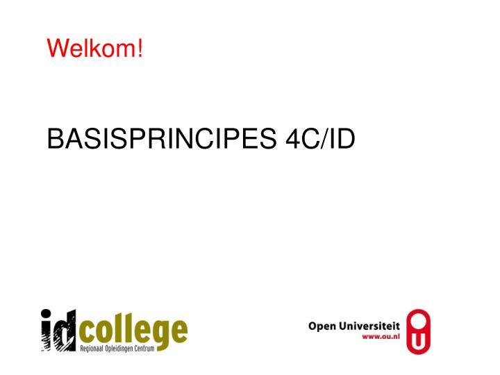 basisprincipes 4c id