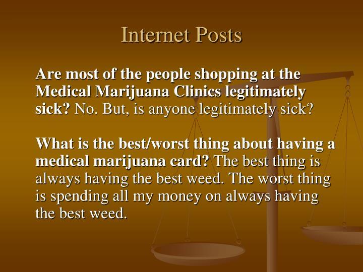 Internet Posts