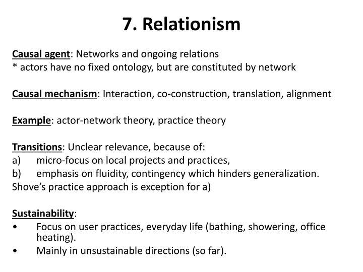 7. Relationism