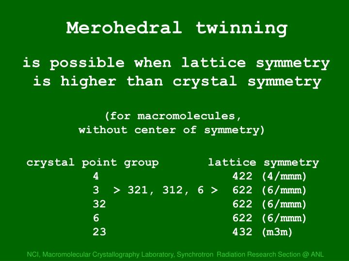 Merohedral