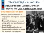 the civil rights act of 19641