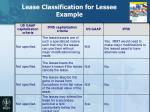 lease classification for lessee example3