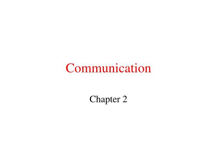 communication n.