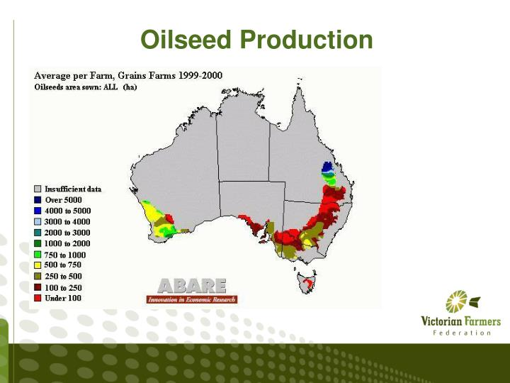 Oilseed Production