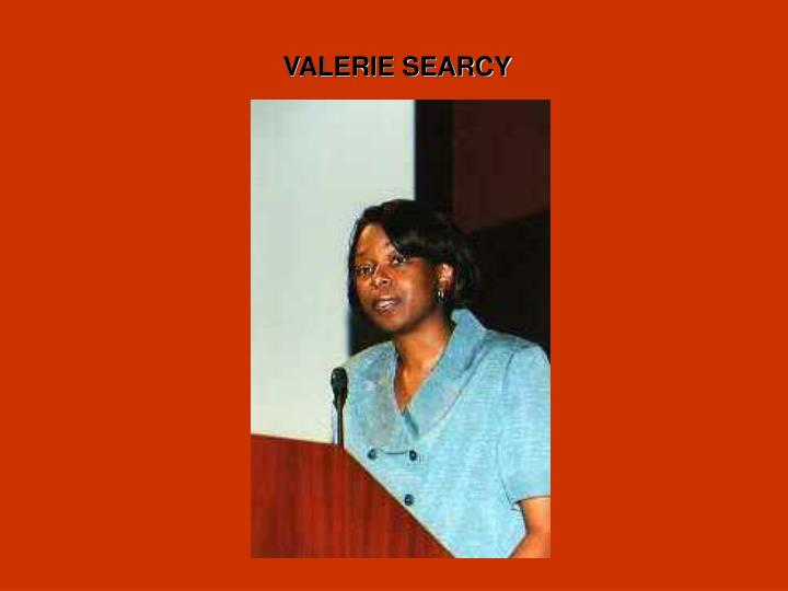 VALERIE SEARCY