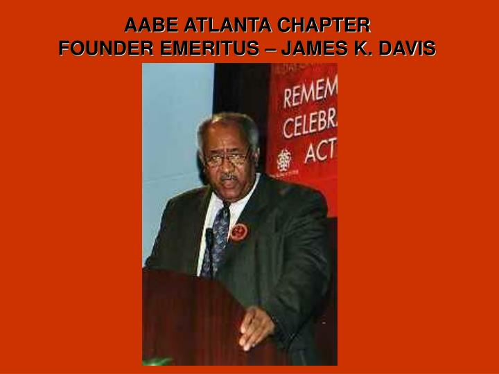 AABE ATLANTA CHAPTER