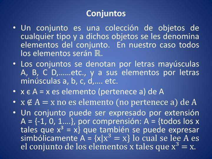 Conjuntos