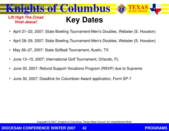 April 21–22, 2007: State Bowling Tournament-Men's Doubles, Webster (S. Houston)