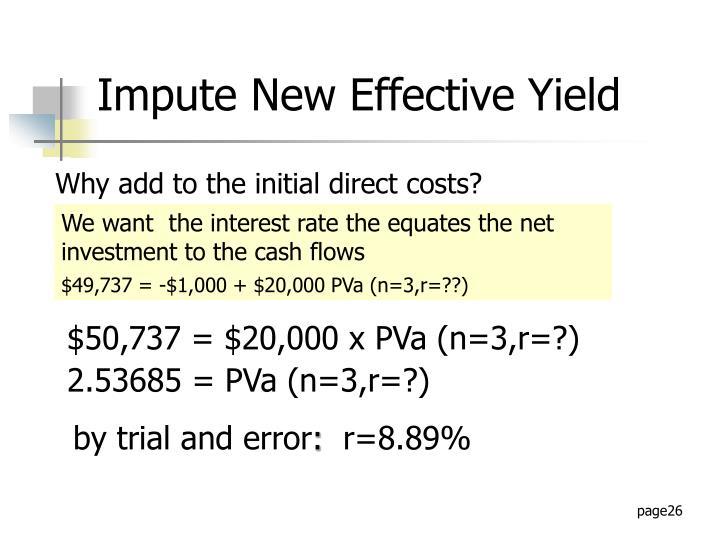 $50,737 = $20,000 x PVa (n=3,r=?)