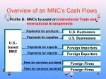 overview of an mnc s cash flows1