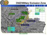 dmz military exclusion zone