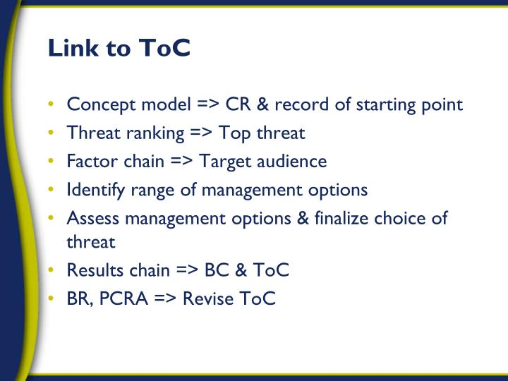 Link to ToC
