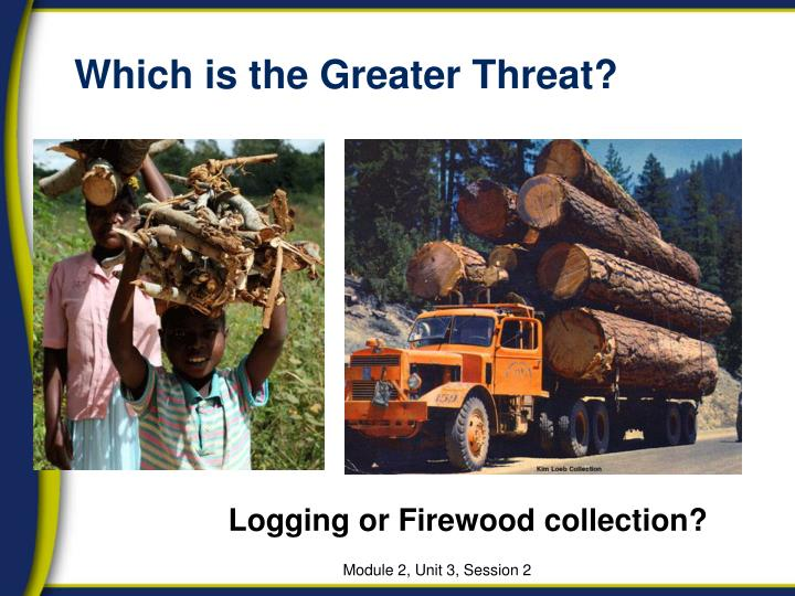 Which is the Greater Threat?