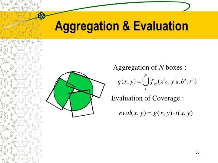 Aggregation & Evaluation