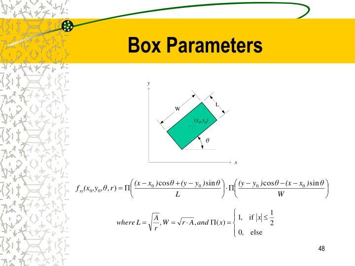 Box Parameters